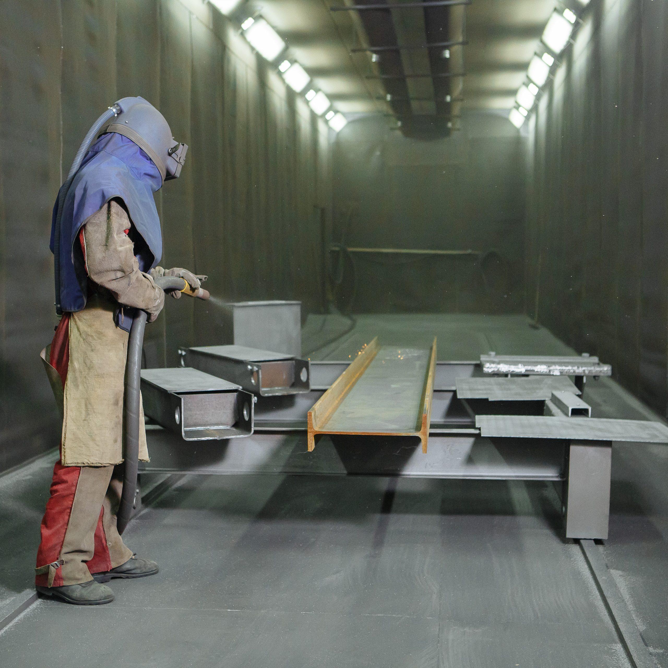 Extracción de cabinas de voladura y blasters