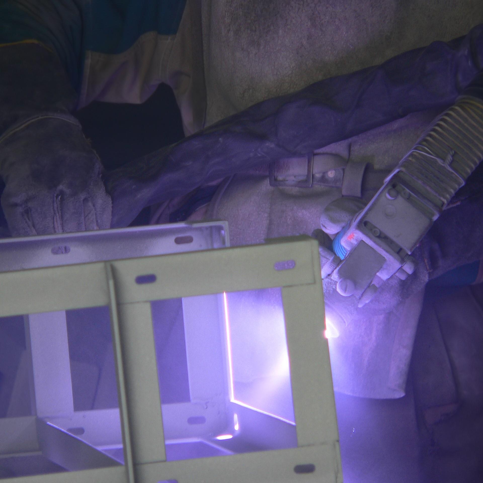 Extracción de polvo de la metalización de productos