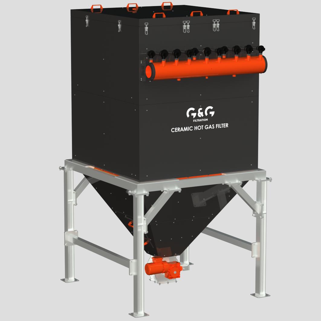 spalinový filtr keramický