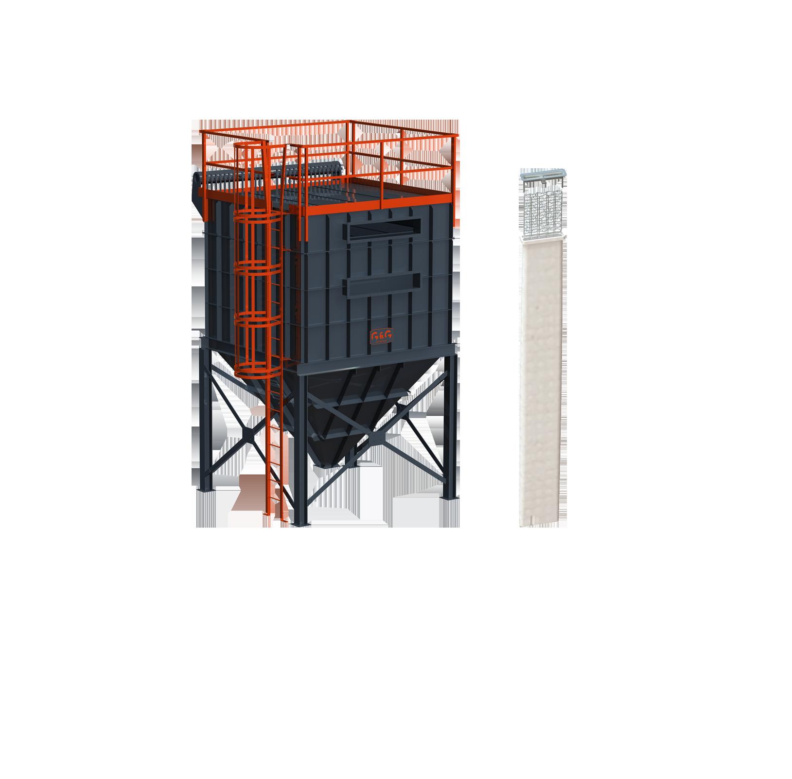 Los filtros de manga plana