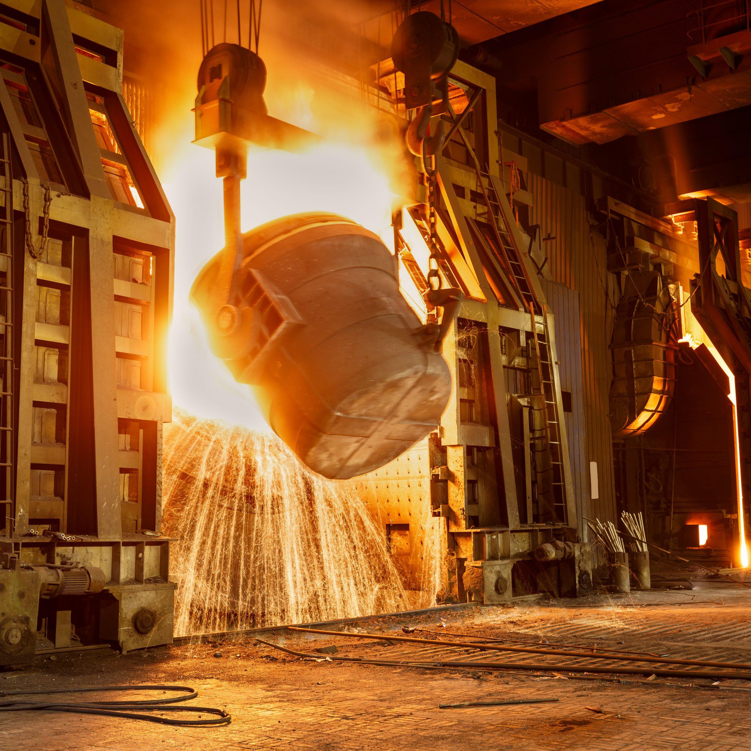 Extracción de hornos de fusión y cubilotes