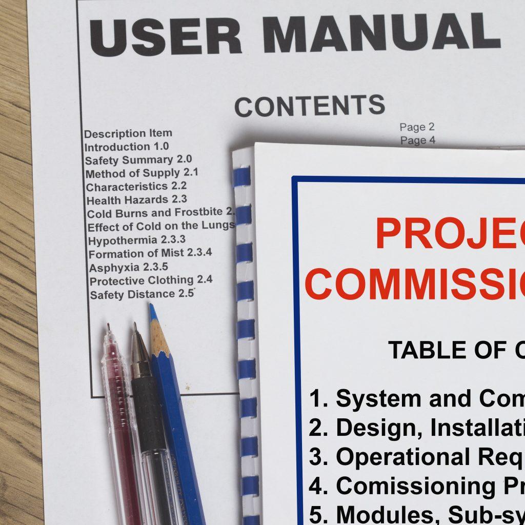 Suministramos documentación de producto