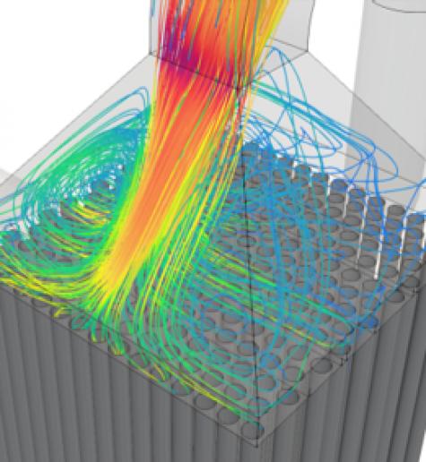 Simulación de flujo CFD