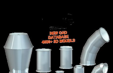 Base de datos y lista de precios de tuberías
