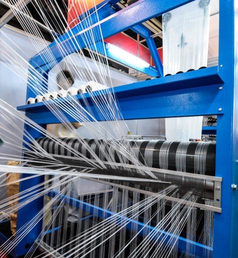 Extracción de polvo textil