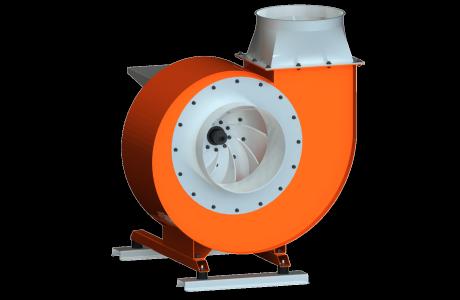 diseño radial o de transporte ventilator